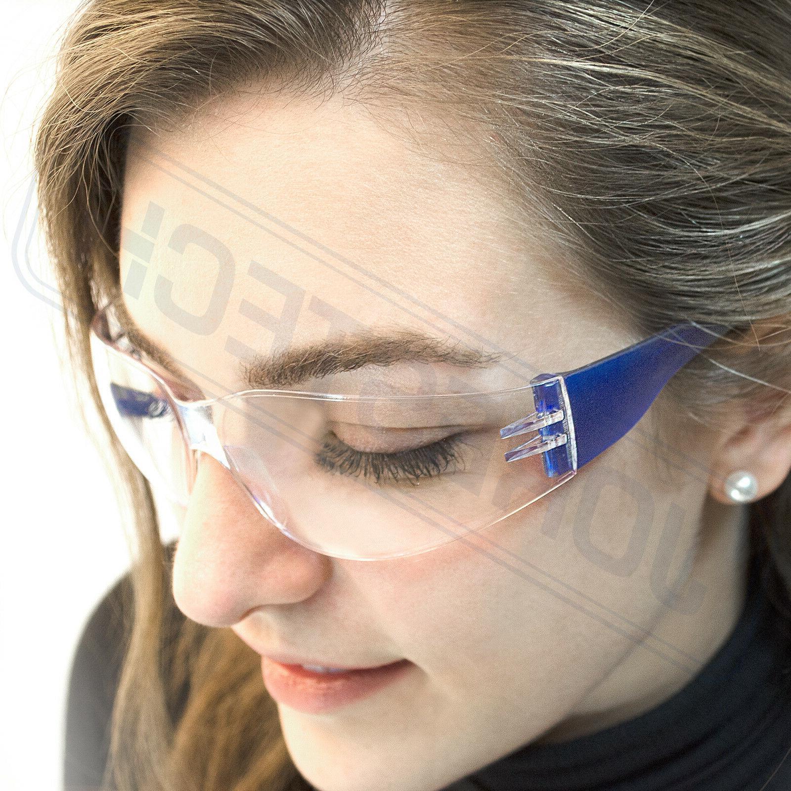 JORESTECH Blue frame clear Lens Glasses Sunglasses 12PACK