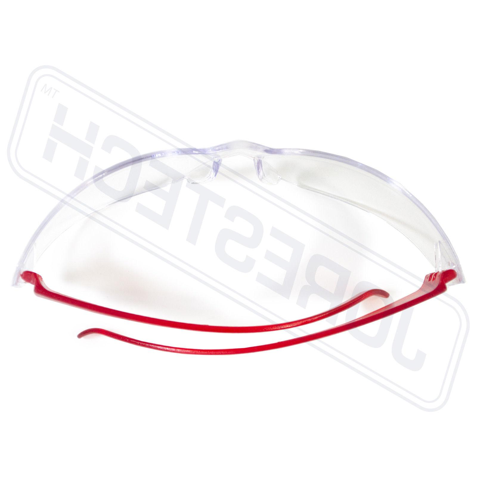 JORESTECH Vision Red clear Safety Sunglasses Z87+