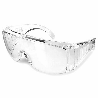 Rugged Blue Visitor Safety Glasses Case of 12