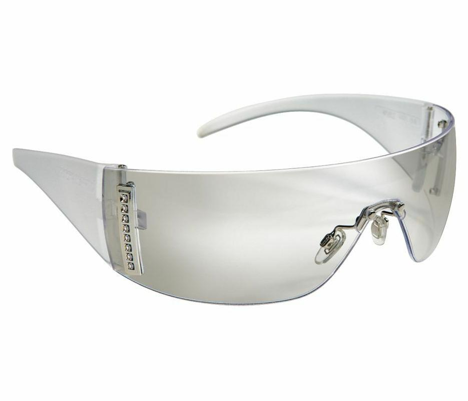 Sperian W103 Women's Safety Glasses, Indoor/Outdoor Silver M