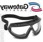 Gateway Wheelz FOAM Padded Anti Fog Clear Lens Black Safety
