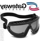 Gateway Wheelz FOAM Padded Anti Fog Smoke Lens Black Safety