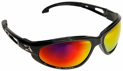 Edge Eyewear Wolverine  Safety Glasses, Black Frame - Aqua P