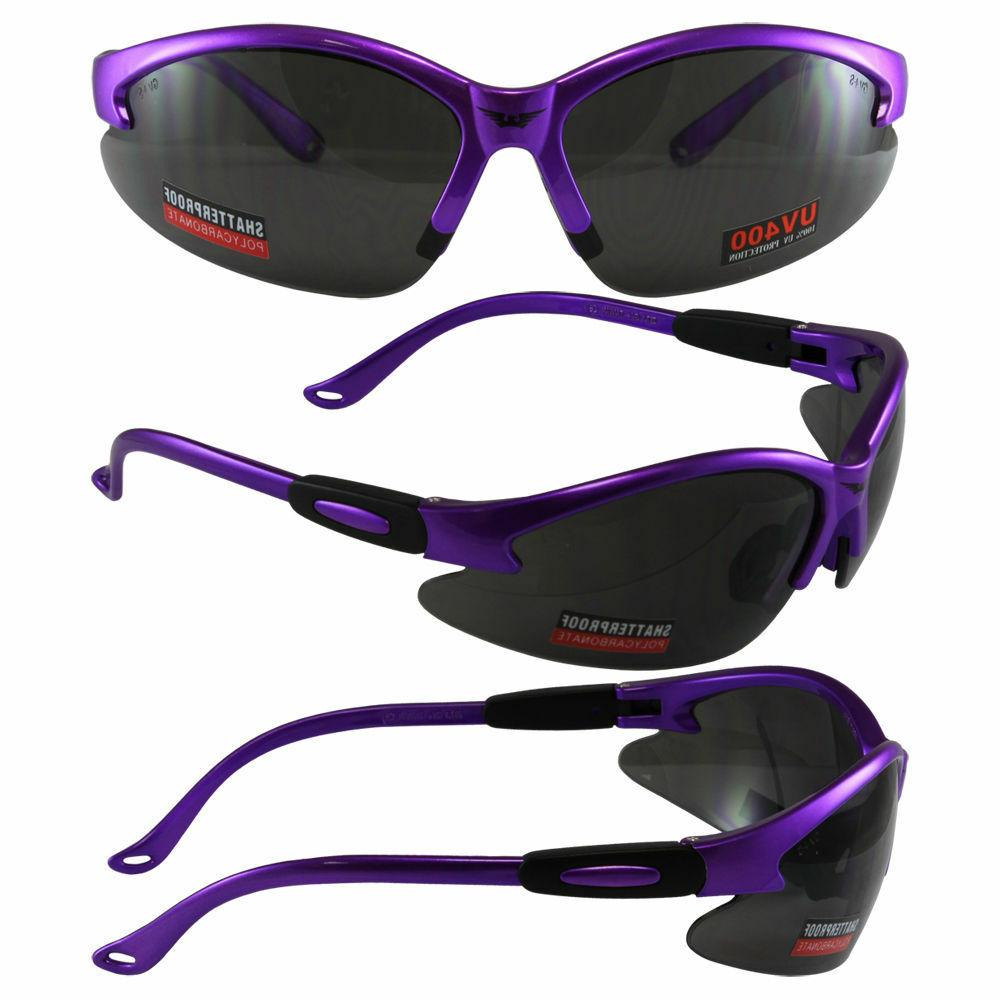 Women's Z87 Purple Glasses Smoked Global