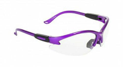 Womens Z87 Purple Glasses Industrial Cougar