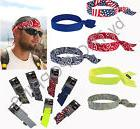 ERGODYNE WORK GEAR-1-CHILL-ITS #6700 COOLING BANDANA W/TIES