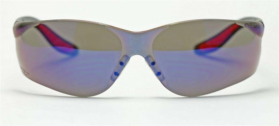 Elvex Safety/Motorcycle/Sun Blue Mirror Z87.1