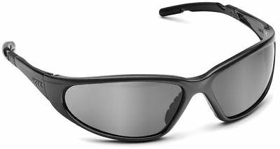 Elvex XTS Mirror Hard Coated Lens, Black Glossy Frame