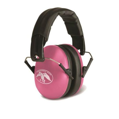 youth folding pink duck commander