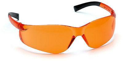 ztek orange lens safety glasses