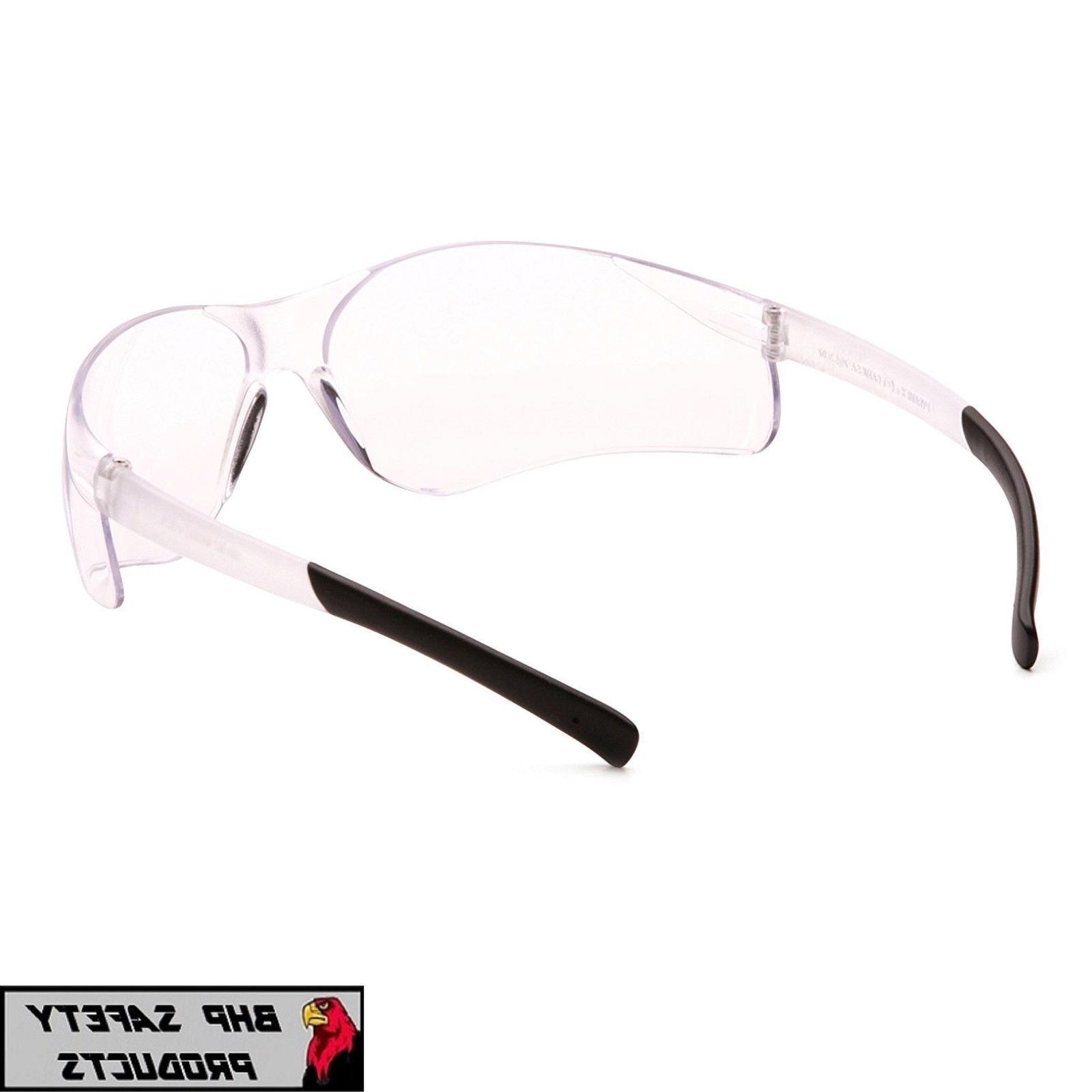 PYRAMEX ZTEK SAFETY GLASSES CLEAR BIFOCAL +2.00 LENS