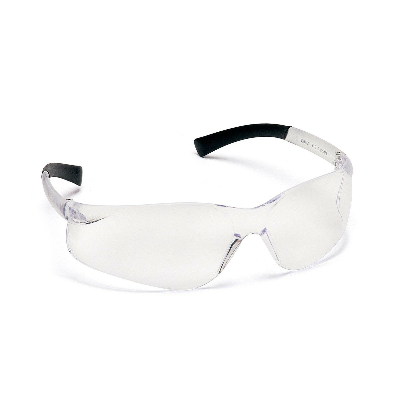 ztek safety eyewear clear lens with clear