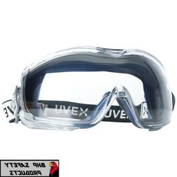UVEX STEALTH OTG OVER THE GLASS LAB SAFETY GOGGLES CLEAR ANT