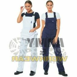 Ladies Bib And Brace Painters Decorators Overalls Engineers