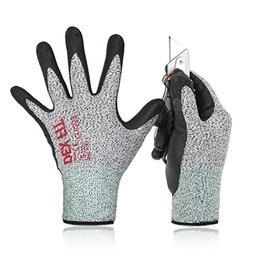 DEX FIT Level 5 Cut Resistant Gloves Cru553, 3D Comfort Stre