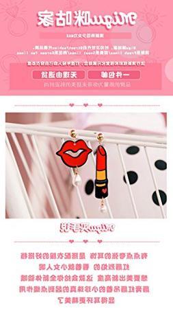 Generic Lip balm microphone cushions home personality girl h