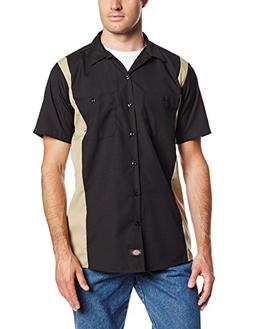 Dickies Occupational Workwear LS524BKDS XL Polyester/ Cotton