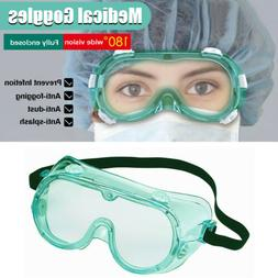 Medical Goggles Safety Lab Glasses Anti Protective Chemical