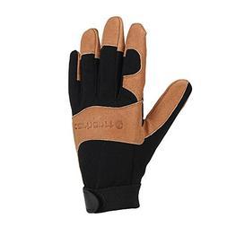 Carhartt Men's The Dex Ii Glove, Black/Barley, Medium
