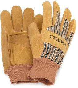 Carhartt Men's Insulated Suede Work Glove with Knit Cuff, Br