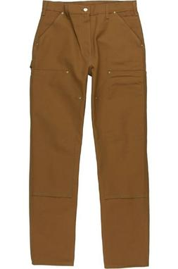 Carhartt Men's Firm Duck Double-Front Work Dungaree Pant Car