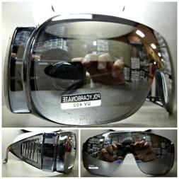 Men's Women WRAP AROUND DRIVING SAFETY SUN GLASSES Over RX G
