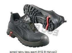 Men's Puma Safety Cascades EH Low Safety Toe Boots, Black, 1