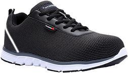 MODYF Men/Women's Steel Toe Work Safety Shoes Casual Breatha