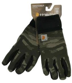 Carhartt Mens A735 Roboknit Gloves Fatigue Camo Touchscreen