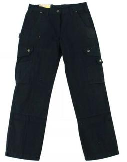 Carhartt Mens B342 Black 36x34 Ripstop Work Cargo Pants
