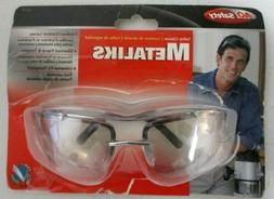 AOSafety Metaliks Safety Glasses Eye Protection Indoor/Outdo