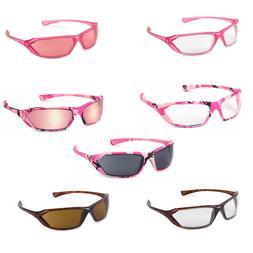 Gateway Metro Pink Pink Camo Tortoise Safety Glasses Womens