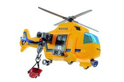 Dickie Toys Mini Action Helicopter Toy, Yellow
