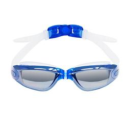 Mirror Swimming Goggles- Anti-Fog, UV Protection, Leak Proof
