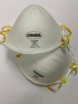N95 Respirator Particulate Masks, PPE, AOSafety Brand, Dispo