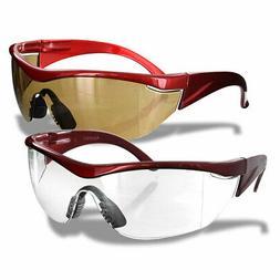 Rugged Blue Navigator Safety Glasses