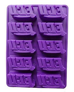 NCAA East Carolina Pirates Ice Trays & Candy Mold, One Size,