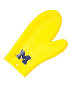 NCAA Michigan Wolverines Oven Mitt/Grilling Gloves, One Size