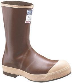 Neoprene Boots, Size 10, 12 in H, Neoprene, Copper/Tan, Sold