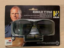 NEW 3M 90204 Tekk Protection Safety Glasses, Black/Yellow Fr