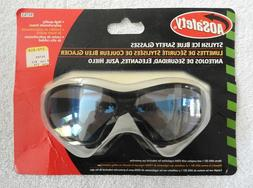 New in Package AOSafety Safety Glasses #90763 - Blue Ice Mir