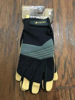 NEW Men's Carhartt A712 High Dexterity Work Gloves Medium La