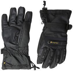 NEW Carhartt Men's Impact Gauntlet Winter Glove - Black - L