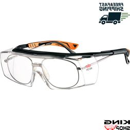 New NoCry Over-Glasses Safety Glasses with Clear Anti-Scratc