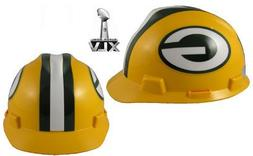 NFL Green Bay Packers Hard Hats RATCHET SUSPENSION