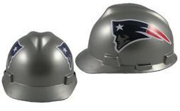 MSA NFL Ratchet Suspension Hardhats - New England Patriots H
