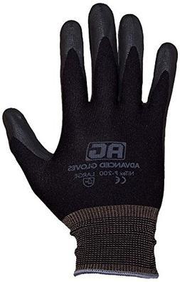 NiTex P-200 BK L Work Gloves
