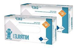 VersaPro N301S Nitrile Exam Gloves, Medical Grade, Powder Fr