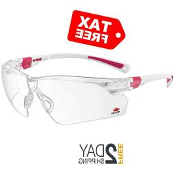 NoCry Safety Glasses with Clear Anti Fog Scratch Resistant W