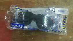 NORTH TINTED SAFETY GLASSES, BROWN FRAMES, T65505BRS